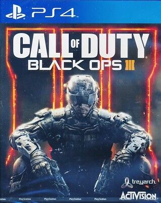 Call of Duty Black Ops 3 III PS4 Game English subtitle Brand New - IMPORT