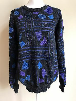Vintage 80's Men's Michael Gerald Cosby Pullover Style Sweater Large