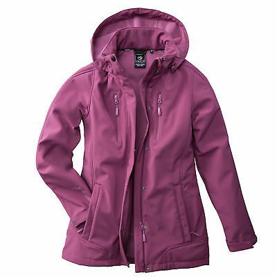 Damen Softshell Jacke Übergangsjacke Winterjacke Outdoor First B