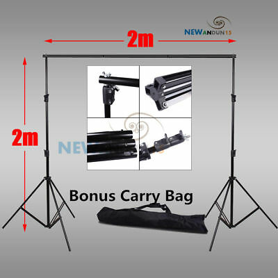 2x2M Photo Video Studio Backdrop Photography Background Support Stand Frame AU