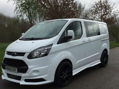 Ford Transit Custom  Rs Side Skirts Swb  Made In Uk