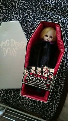 Mezco Living Dead Doll Series 5 Siren - excellent condition in coffin box