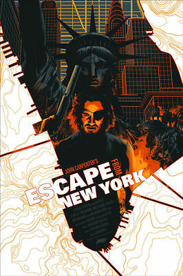 Mondo Escape From New York (Variant) by Matt Taylor
