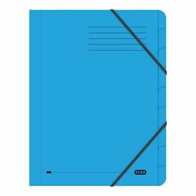 Elba Strongline 9 Part Blue File Pack of 5 100090172 [BX00503]