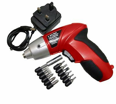 3.6V 12Pc Rechargeable Cordless Electric Screwdriver Power Bit  Kit Screw New