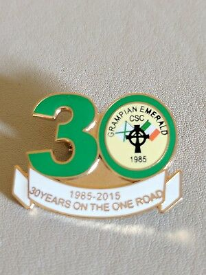 Grampian Emerald Celtic supporters club badge
