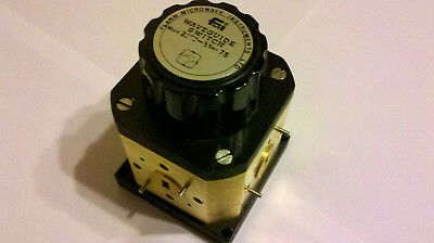 WR22 (WG23) Waveguide Switch, 33-50 GHz
