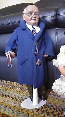 Collectors Goldenvale  African American Porcelain Doll