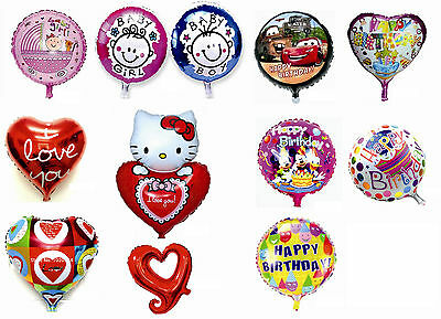 LARGE Foil Helium Balloons