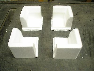 Qty 24 Styrofoam Polystyrene corner for packing & shipping - Protectors