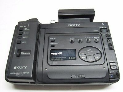 Sony Evo-250 NTSC Hi8 Video Cassette Recorder W/ PGV-250 Adaptor power btwn 8F1