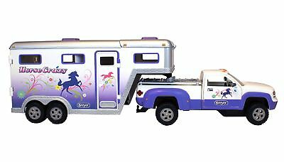 Breyer Stablemates Horse Crazy Truck and Trailer Vehicle