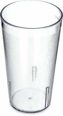 Carlisle 5212-8107 Stackable Shatter-Resistant Plastic Tumbler 12 oz. Clear (...
