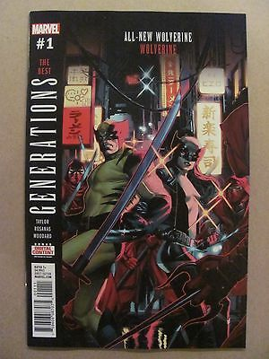 Generations Wolverine & All New Wolverine #1 Marvel 2017 One Shot 9.6 NM+
