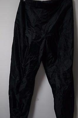 Men's Mossi Motorsports Insulated Polyester Snowmobile Pants Size XL Black