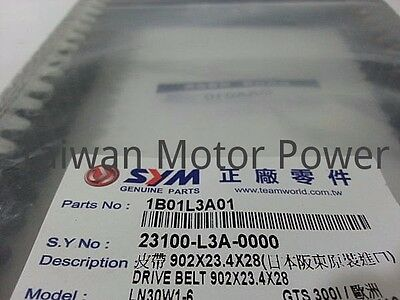 GENUINE Parts V-BELT SYM GTS300 CRUiSYM JOEMAX300i ABS (L3A) CVT Belt OEM