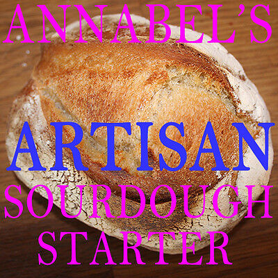 "ANNABEL'S ""ARTISAN"" SOURDOUGH STARTER  - BREAD 50gm"