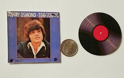 Miniature record  Barbie Gi Joe 1/6  Figure  Playscale Donny Osmond