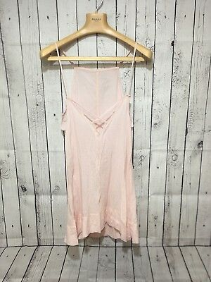 aadbbdc31b6 Women's Intimately Free People Pale Pink Strappy Long Tunic! Size Small