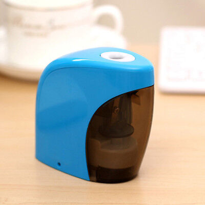 Electric Pencil Sharpener Automatic Touch Switch School Office Classroom Home