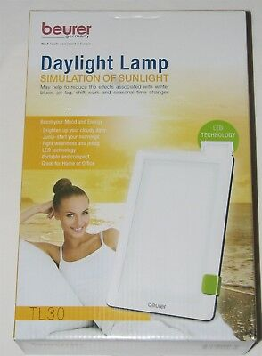 Beurer Daylight Lamp Portable  Light Therapy Lamp - 10,000 Lux