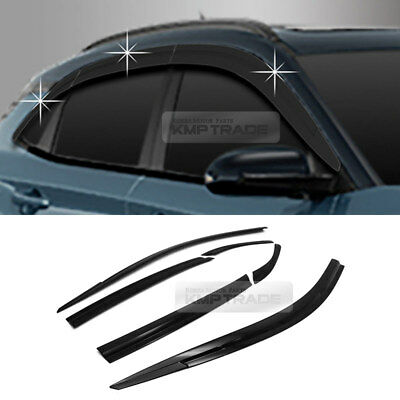 Smoke Window Sun Vent Visor Rain Guards Garnish D775 6P For HYUNDAI 2018 19 Kona