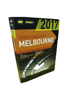 50% OFF  Melbourne Street Directory 2017  Better Than MELWAY  * Free Delivery *