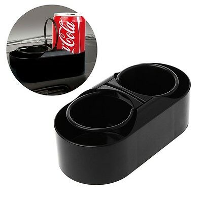 Car Truck ABS Dual Double Drink Bottle Water Beverage Holder Cup Holder  Stand