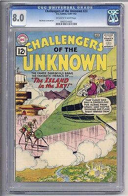 Challengers of the Unknown #23 CGC 8.0