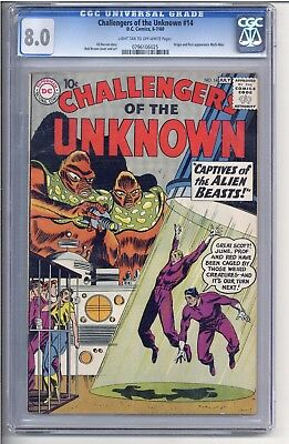 Challengers of the Unknown #14 CGC 8.0