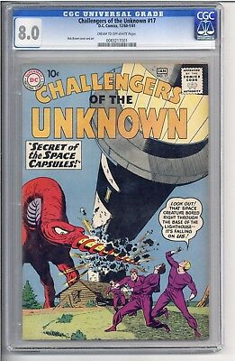 Challengers of the Unknown #17 CGC 8.0
