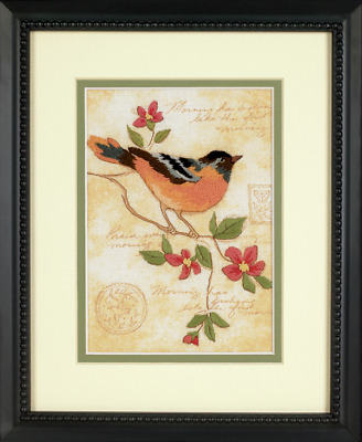 Dimensions - Mini Crewel Embroidery Kit - Elegant Oriole - Bird - D06237