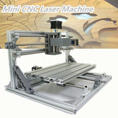 DIY Mini 3 Axis 3018 CNC Machine Pcb Milling Wood Router Engraver Printer