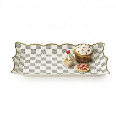 Truly Alice in Wonderland Mad Hatters Tea Party Food Platters, Set of 4