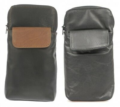 Leather GLASSES CASE Soft Genuine Real Leather for Reading Glasses or Sunglasses