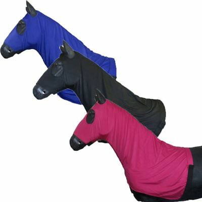 Best On Horse Protective Comfortable Equestrian New Zip up Quality Lycra Hood