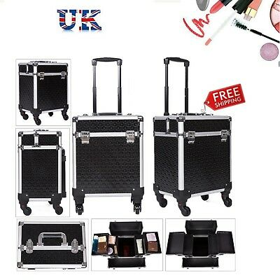 Extra Large Makeup Trolley Case Make Up Beauty Vanity Cosmetic Box Storage Gift