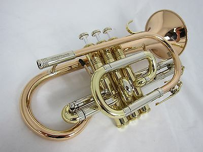 Amati Heritage Large Bore Bb Cornet - Lacquer (new instrument)