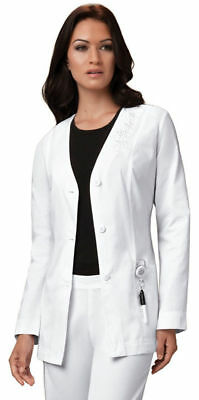 """1446AB Cherokee Adult New Side Access Opening Long Sleeve Pocket 40/"""" Lab Coat"""