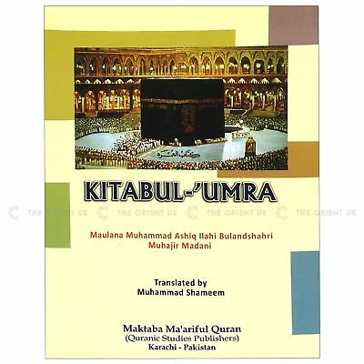 Kitabul-Umra Book Teach You How to Perform Umrah English Guide Medium 120 Pages