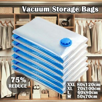 Vacuum Storage Bags Saver Seal Compressing Space Saving Medium Extra Large LOT A