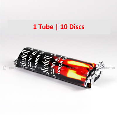 10 Charcoal Disc Tablet Coal Instant Light Easy Use 1 Tube Contain 10 Charcoal