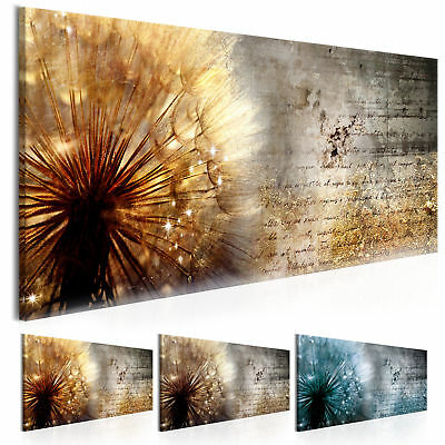 wandbilder xxl pusteblume abstrakt natur leinwand bilder wohnzimmer b c 0180 b b eur 21 51. Black Bedroom Furniture Sets. Home Design Ideas