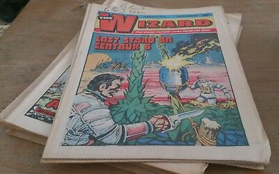 10 Wizard Comics 1975