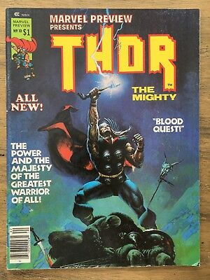 Marvel Preview THOR the Mighty #10 1977 Jim Starlin