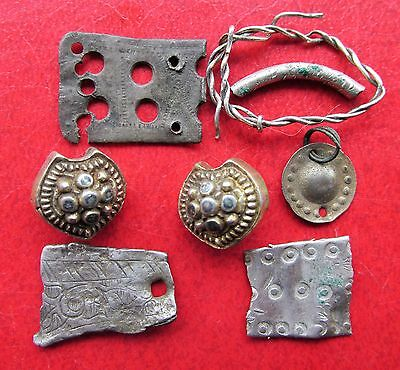 Ancient Vikings Silver Artifacts