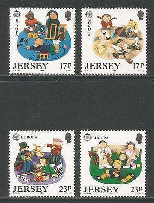 Jersey 1989 Europa/Children's Games--Attractive Topical (511-14) MNH