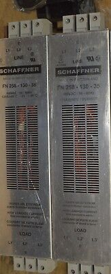 Schaffner RFI Power Line Filters (2) FN258-130-35