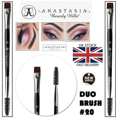 New Anastasia Beverly Hills Eyebrow and Eyeliner Shaping Duo Makeup #20 Brush 20