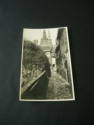 LICHFIELD, Staffordshire, Real Photographic postcard